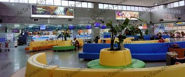 Kinmen Airport Seating Area